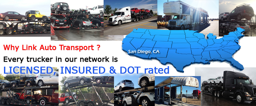 Auto Transport San Diego